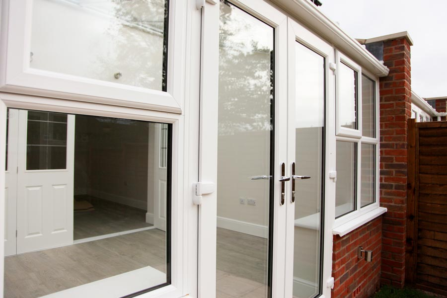French taunton windows for Upvc french doors draught