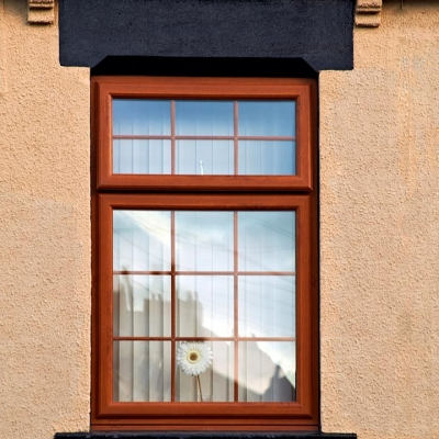 Oak casement window