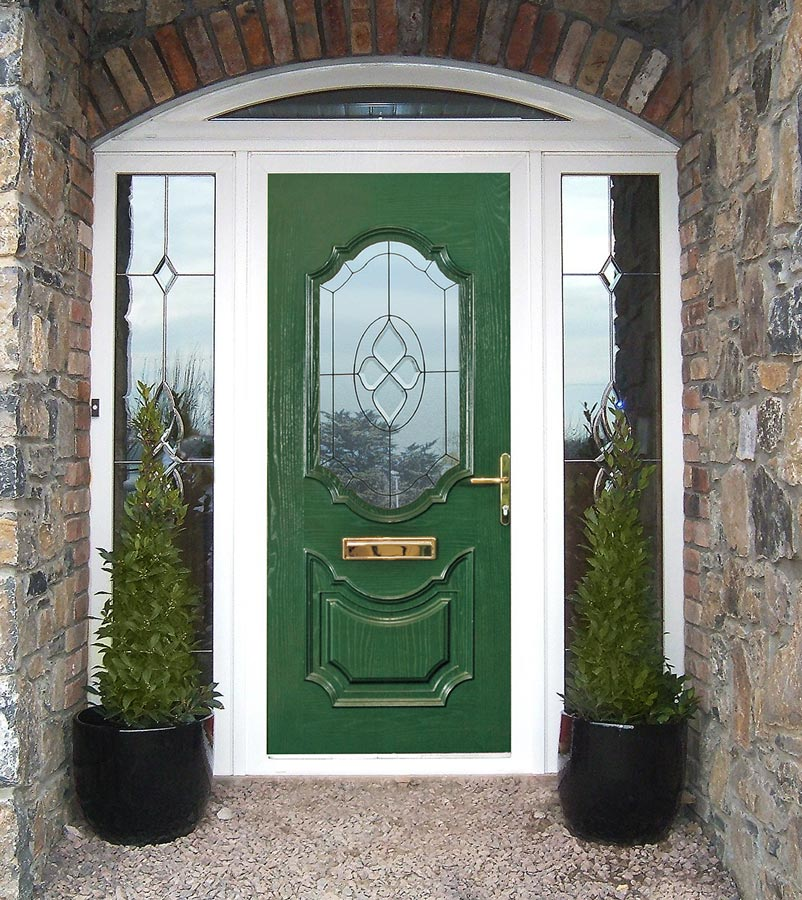Green composite door