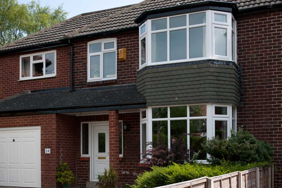 Slimline uPVC windows